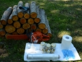 Töövahendid seenepakkude valmistamiseks