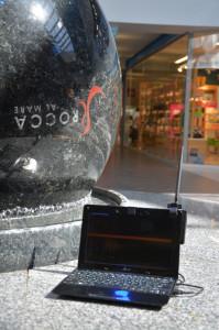 Wifi-sweep Rocca al Mare kaubanduskeskuses