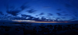 Kuunsi öine panoraam