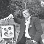 """Jaan Tooming ETV telelavastuse """"Armastus armastus"""" välivõtetel, 1969, Eesti Kunstimuuseumi fotokogu"""