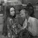 """Ene Rämmeld ja Tõnu Tepandi ETV telelavastuse """"Armastus armastus"""" välivõtetel, 1969, Eesti Kunstimuuseumi fotokogu"""