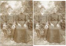 Vana foto taastamine